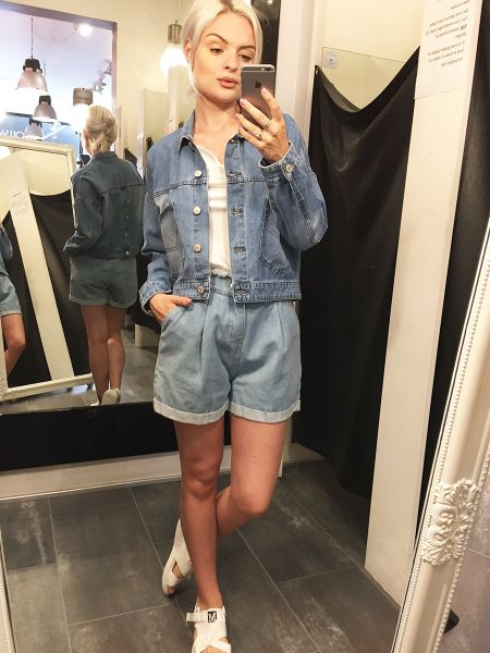 DENIM JAKKE  SONIA