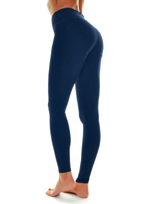 Freya Pants - Navy blå push-up leggings