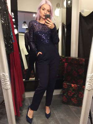 JUMPSUIT MED PILLETTER VICTORIA JOLLYYOUNG